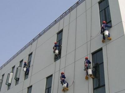 飘窗防水施工1