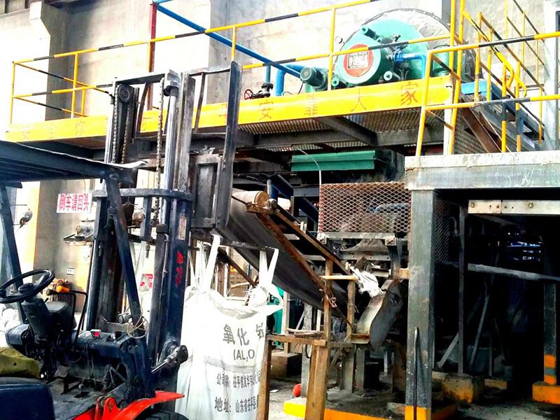 改装后盘式过滤机生产现场