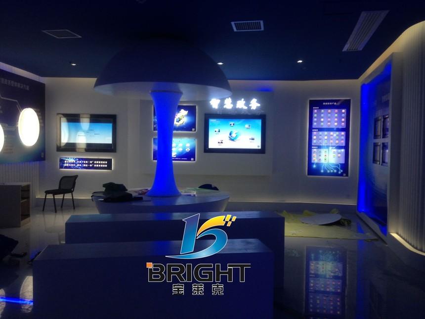 军工软件公司网络安全与信息化展厅案例