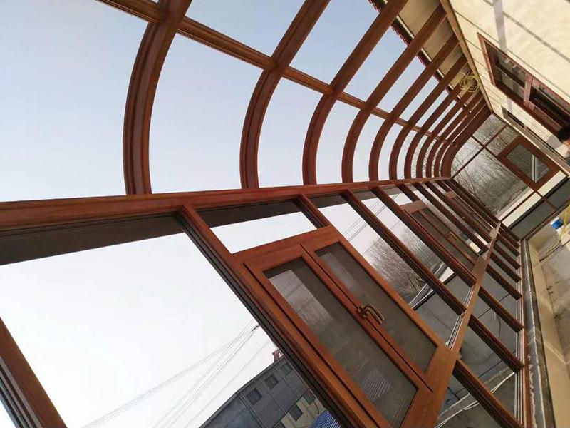 阳光房施工案例