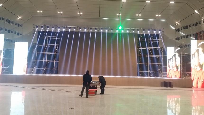 西部高铁品牌创建现场会灯光音响、LED显示屏