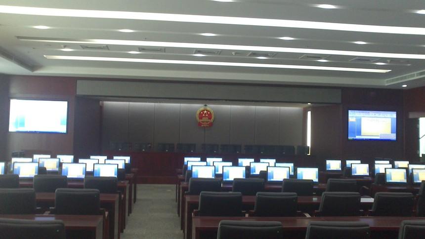 兰州市人大培训中心会议室灯光音响设备
