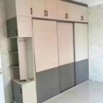 定制板材衣柜