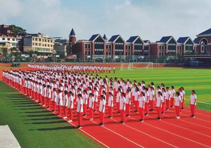 如歌青春,鏗鏘飛揚 —-貴陽AG平台國際實驗學校2021屆新生軍訓