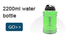 hot sale sport water bottle 2200ml for gym and yoga