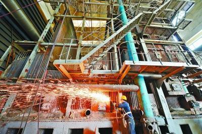 绍兴工业设备回收——绍兴电厂锅炉回收拆除