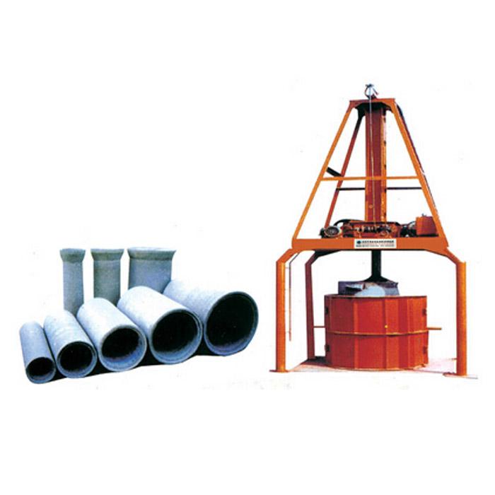 立式挤压水泥制管机
