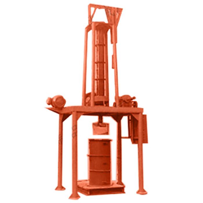立式挤压水机制管机