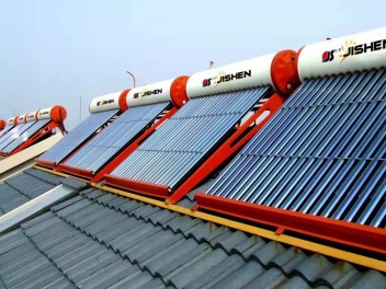 家用太阳热水系统安装