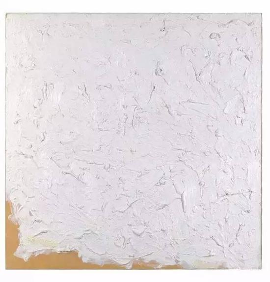 Untitled ,1961,Oil on paper,31.7 x 31.7 cm.