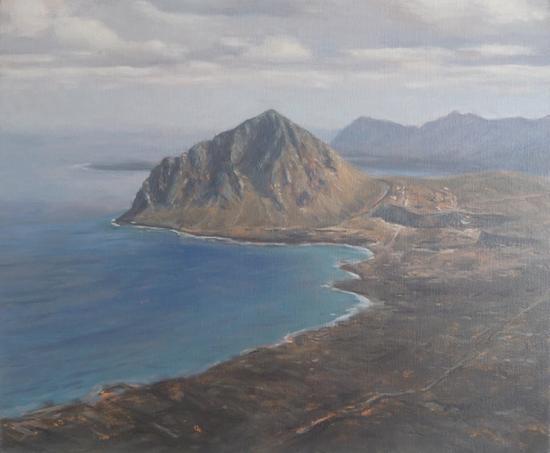 让-达尼埃尔·布瓦尔 《圣维拖洛卡波》 布面油画 54 X 65cm
