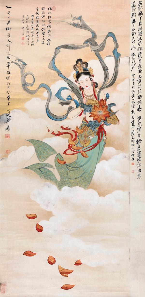 1710张大千 天女散花.jpg