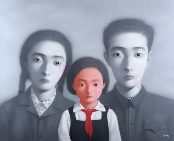 张晓刚《大家庭》.jpg