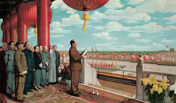 开国大典(复制) 董希文 230×400cm 布面油画 1952 原作藏于中国国家博物馆.jpg