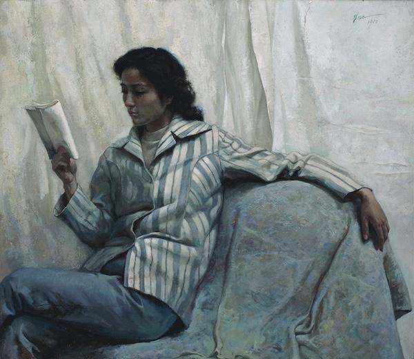 妇女像 朱乃正  95×100cm 1980 中央美术学院美术馆藏.jpg