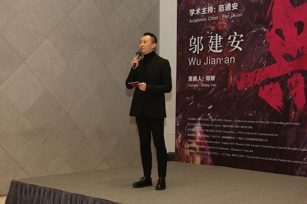 主持人、生活方式研究者曹涤非先生主持棋牌挣钱开幕式.JPG