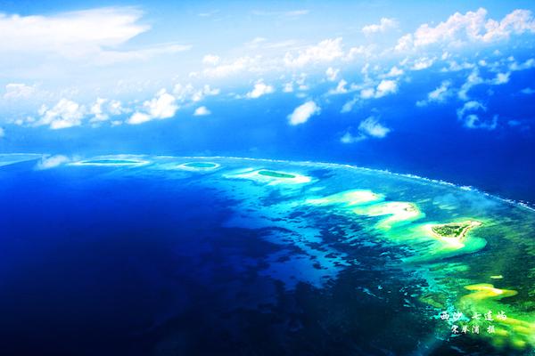 七连屿就是赵述岛等岛洲所在大礁盘的整体名称,还包括西沙洲、赵述门、东新沙洲、西新沙洲、及其附近礁盘。西沙群岛-七连屿 宋举浦摄影.jpg
