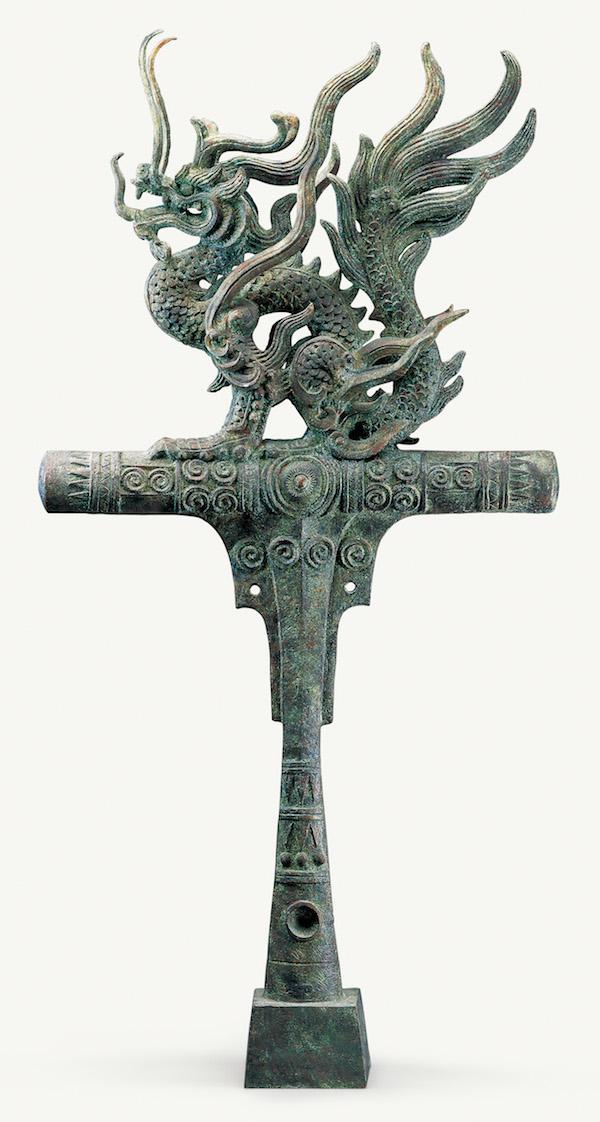 雕塑:《尚贤使能》,80x21x165cm,青铜,2000年.jpg