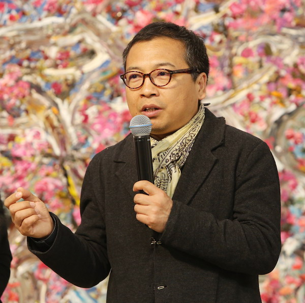 2.著名策展人和评论家黄笃先生致辞.JPG